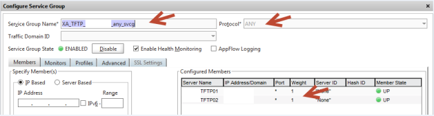 TFTP Service Group